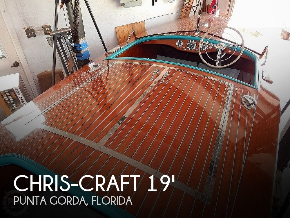 1950 Chris Craft boat for sale, model of the boat is Racing Runabout & Image # 1 of 40