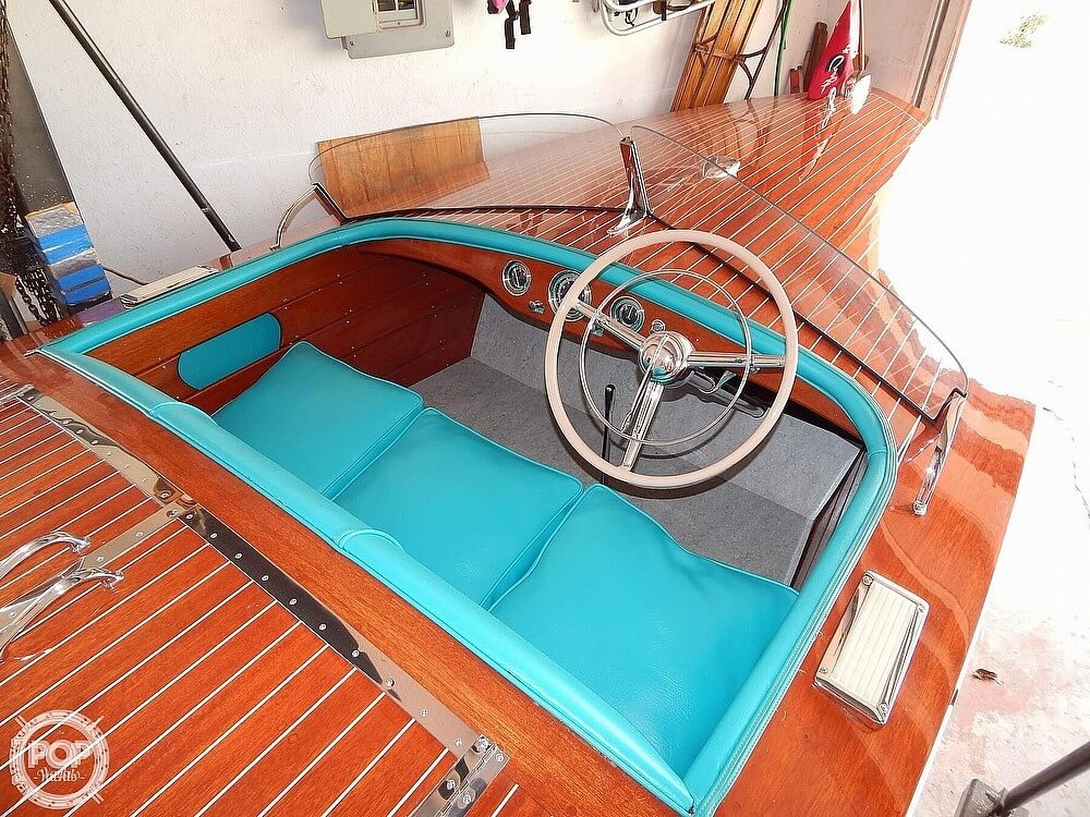 1950 Chris Craft boat for sale, model of the boat is Racing Runabout & Image # 16 of 40