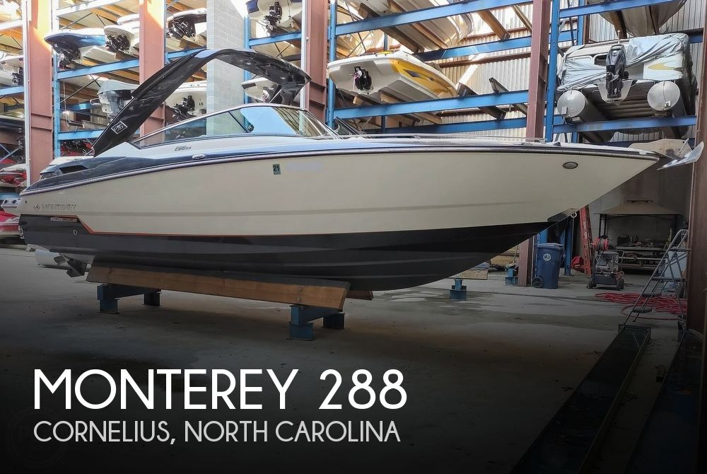2013 Monterey boat for sale, model of the boat is 288 Super Sport Bowrider & Image # 1 of 40