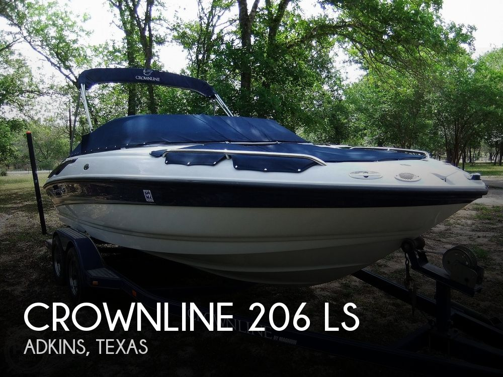 2004 Crownline boat for sale, model of the boat is 206 ls & Image # 1 of 40