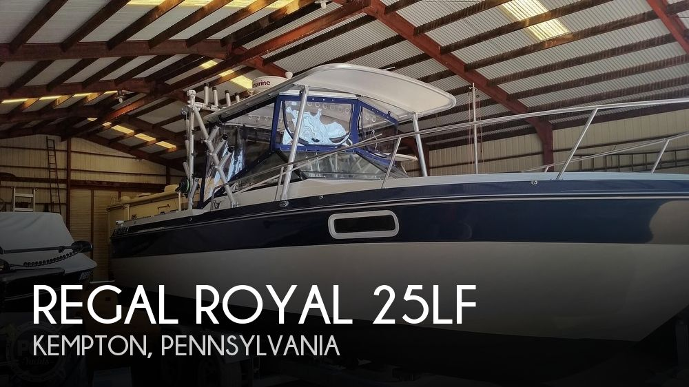 Used Regal Boats For Sale in Lancaster, Pennsylvania by owner | 1987 Regal Royal 25LF
