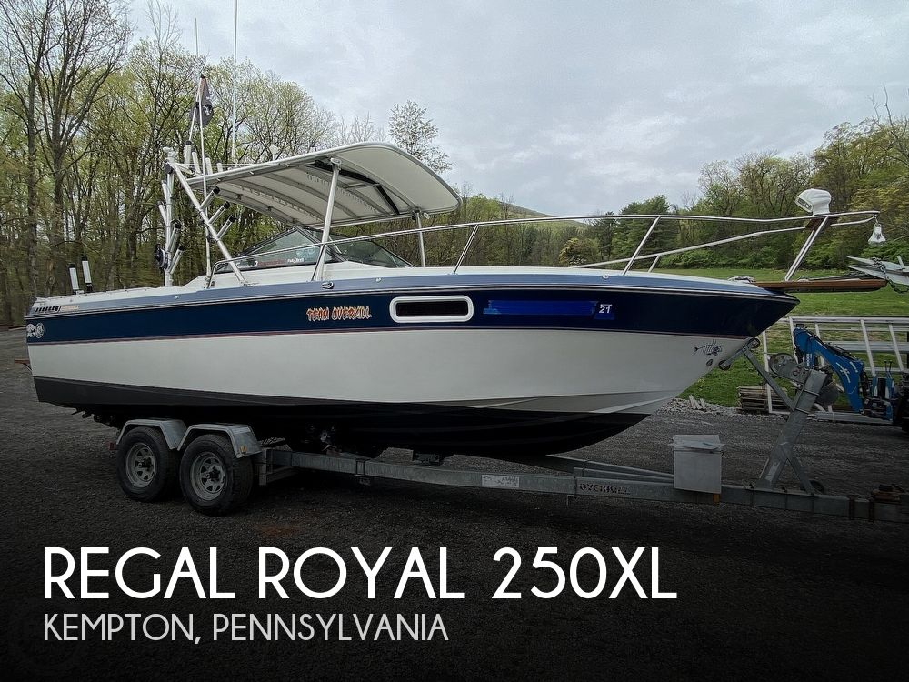1987 Regal boat for sale, model of the boat is Royal 250XL & Image # 1 of 40