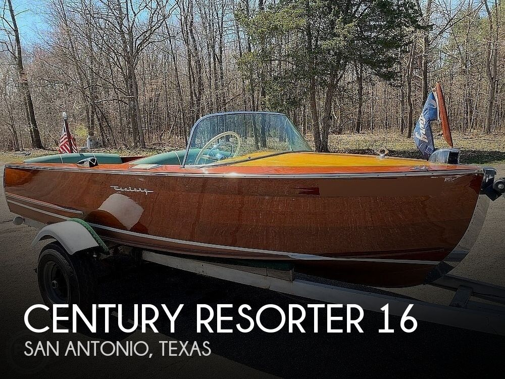1955 Century boat for sale, model of the boat is RESORTER 16 & Image # 1 of 22