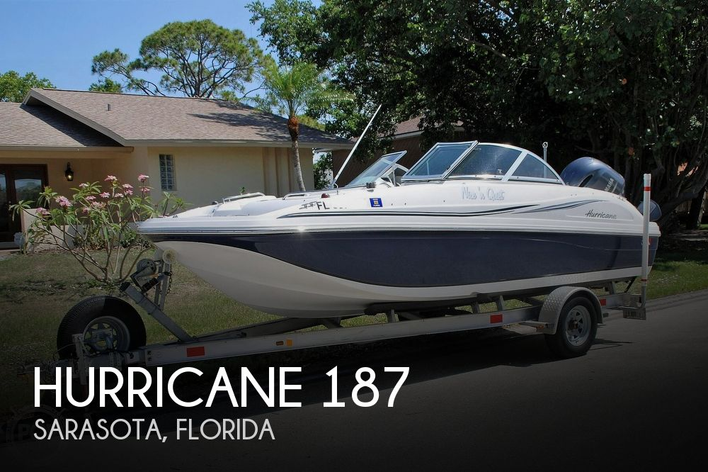 2014 Hurricane boat for sale, model of the boat is Sundeck 187 OB & Image # 1 of 40