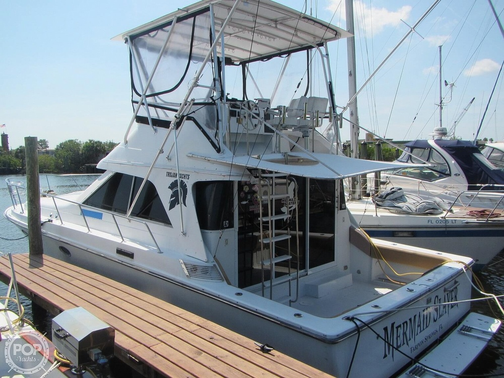1985 Trojan boat for sale, model of the boat is 11 Meter Convertible & Image # 3 of 40