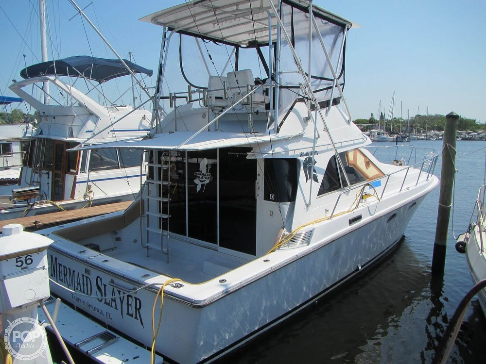 1985 Trojan boat for sale, model of the boat is 11 Meter Convertible & Image # 17 of 40