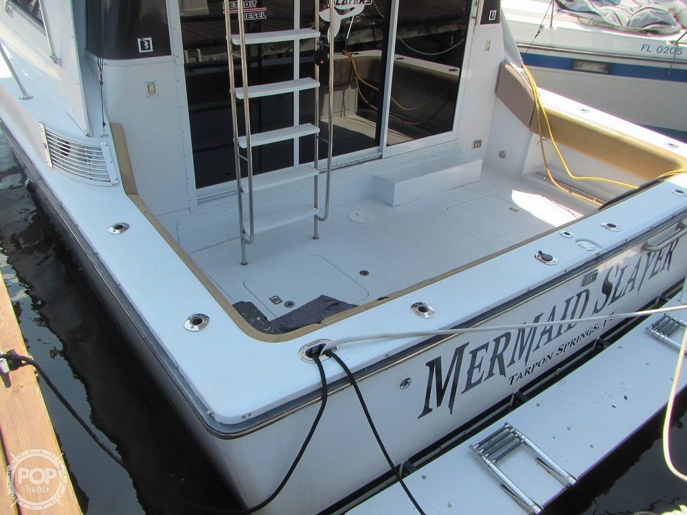 1985 Trojan boat for sale, model of the boat is 11 Meter Convertible & Image # 28 of 40