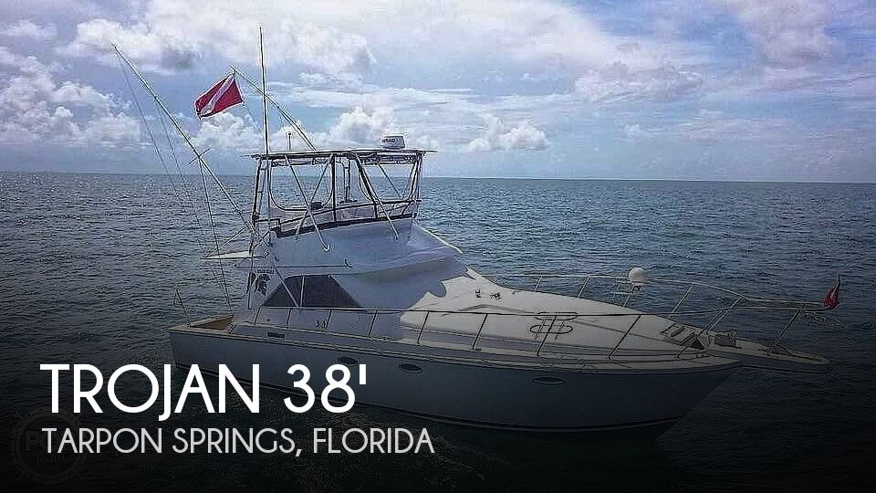 1985 Trojan boat for sale, model of the boat is 11 Meter Convertible & Image # 1 of 40