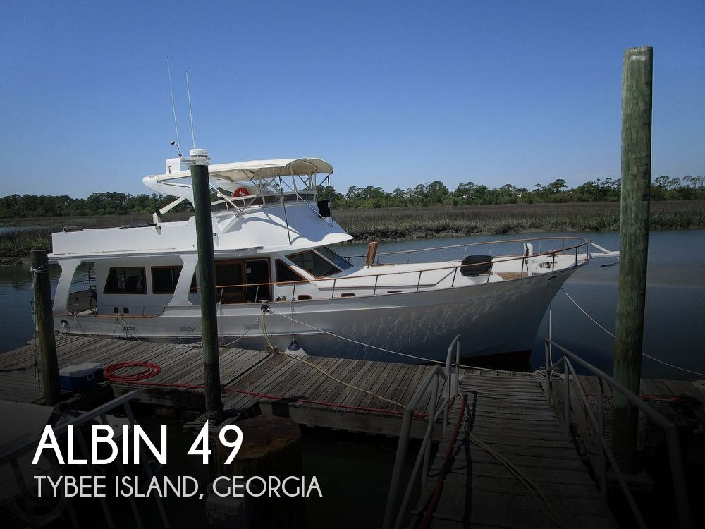 Used Boats For Sale in Savannah, Georgia by owner | 1979 Albin 49 Extended Flybridge