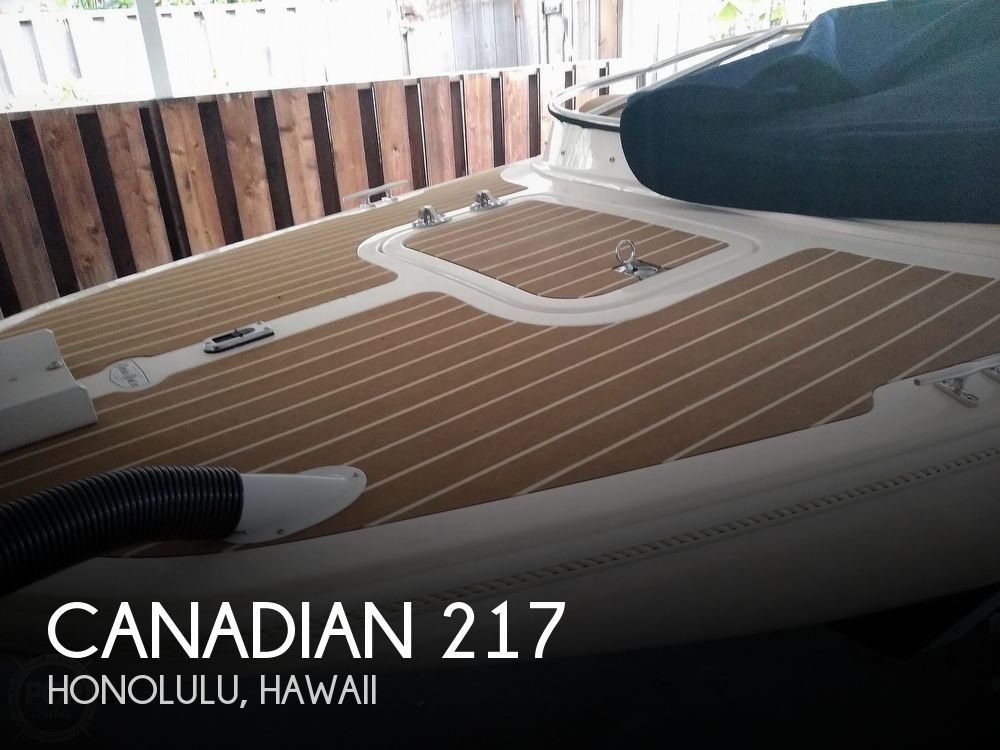 2020 Canadian Electric boat for sale, model of the boat is 217 Fantail & Image # 1 of 37