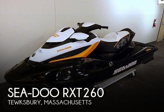 2013 SEA DOO PWC RXT260 for sale