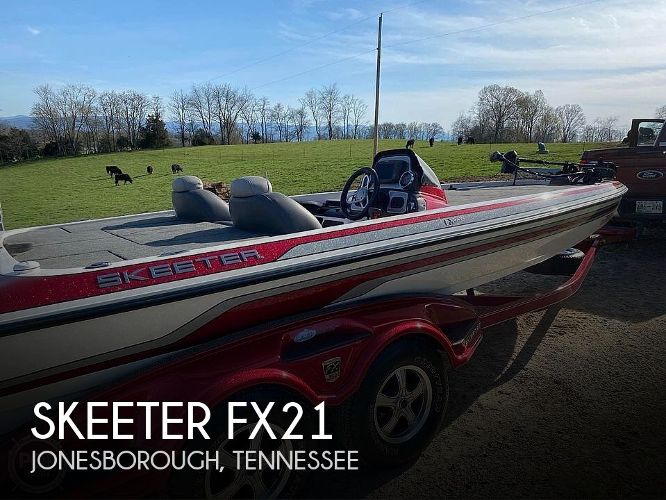 Used Boats For Sale in Asheville, North Carolina by owner | 2011 Skeeter Fx21