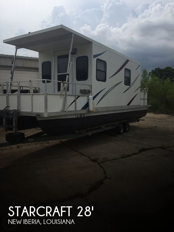 Used Houseboats For Sale in Louisiana by owner | 1986 Starcraft 28'