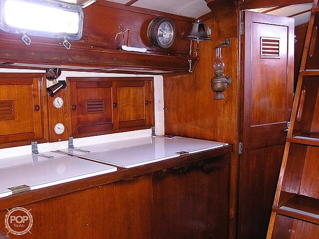 1974 Cheoy Lee boat for sale, model of the boat is 47 Offshore & Image # 10 of 40