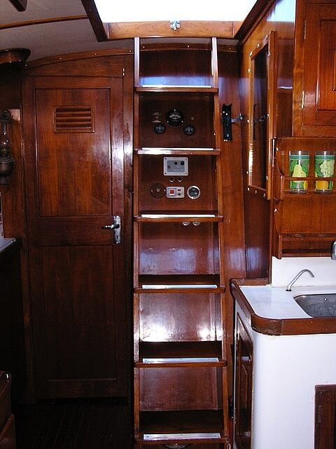 1974 Cheoy Lee boat for sale, model of the boat is 47 Offshore & Image # 11 of 40
