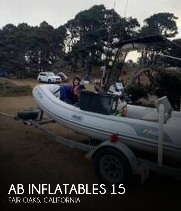 2008 AB Inflatables boat for sale, model of the boat is 15 & Image # 1 of 19