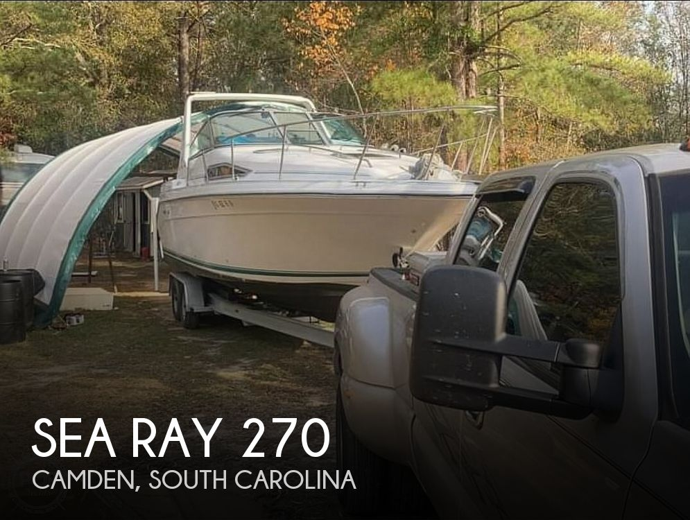 Used Sea Ray Power boats For Sale in Columbia, South Carolina by owner | 1991 Sea Ray Sundancer 270