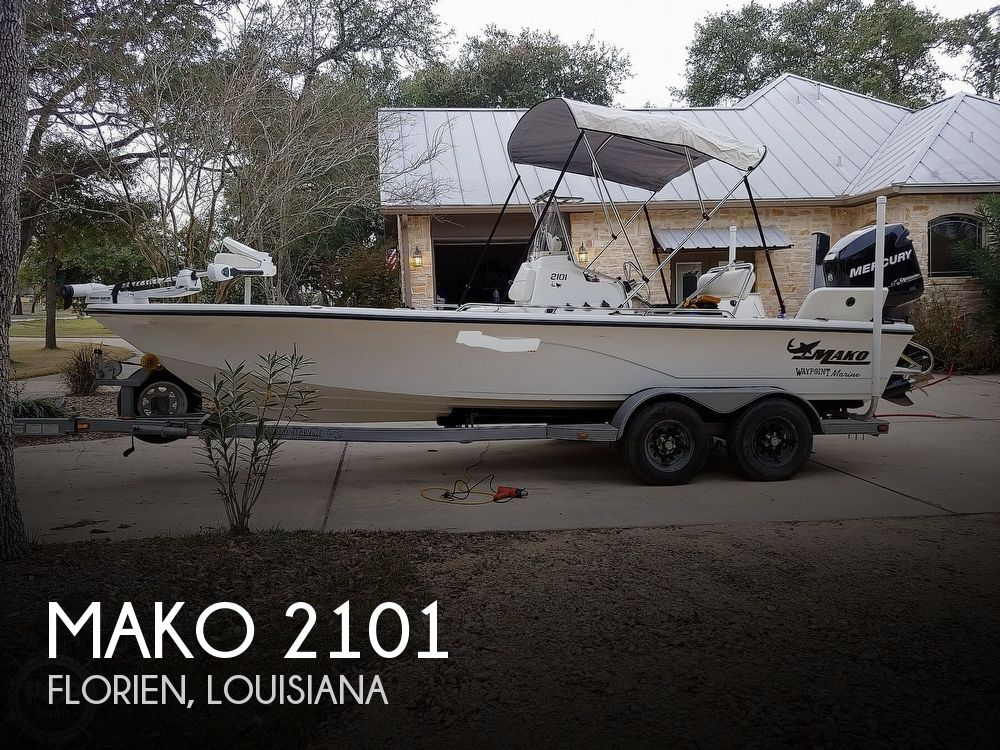 2008 Mako boat for sale, model of the boat is 2101 & Image # 1 of 19