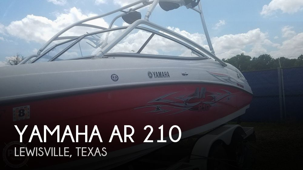 2006 Yamaha boat for sale, model of the boat is AR 210 & Image # 1 of 40