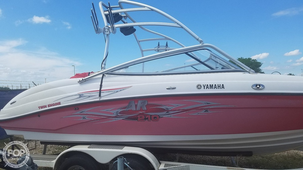 2006 Yamaha boat for sale, model of the boat is AR 210 & Image # 9 of 40