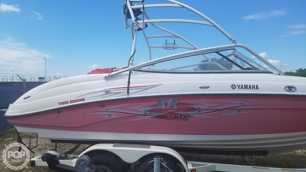 2006 Yamaha boat for sale, model of the boat is AR 210 & Image # 10 of 40