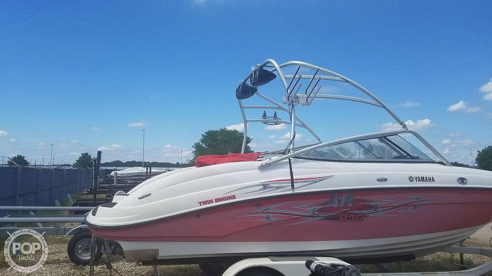 2006 Yamaha boat for sale, model of the boat is AR 210 & Image # 12 of 40