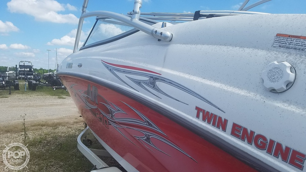 2006 Yamaha boat for sale, model of the boat is AR 210 & Image # 24 of 40