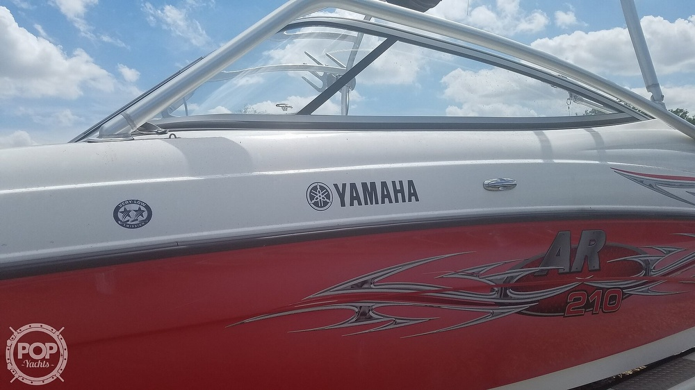 2006 Yamaha boat for sale, model of the boat is AR 210 & Image # 30 of 40