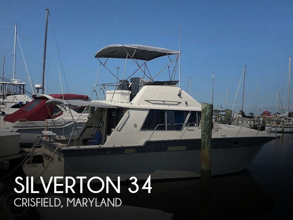 Used Silverton Boats For Sale in Maryland by owner | 1987 Silverton 34 Convertible