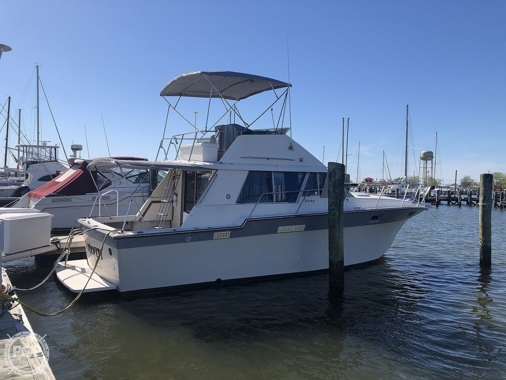 1987 Silverton boat for sale, model of the boat is 34 Convertible & Image # 7 of 40