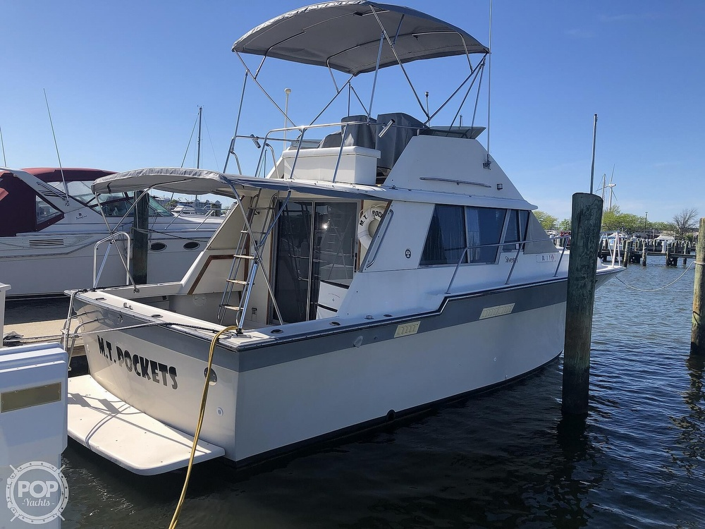 1987 Silverton boat for sale, model of the boat is 34 Convertible & Image # 2 of 40