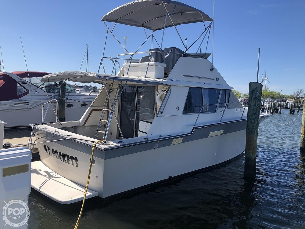 1987 Silverton boat for sale, model of the boat is 34 Convertible & Image # 12 of 40