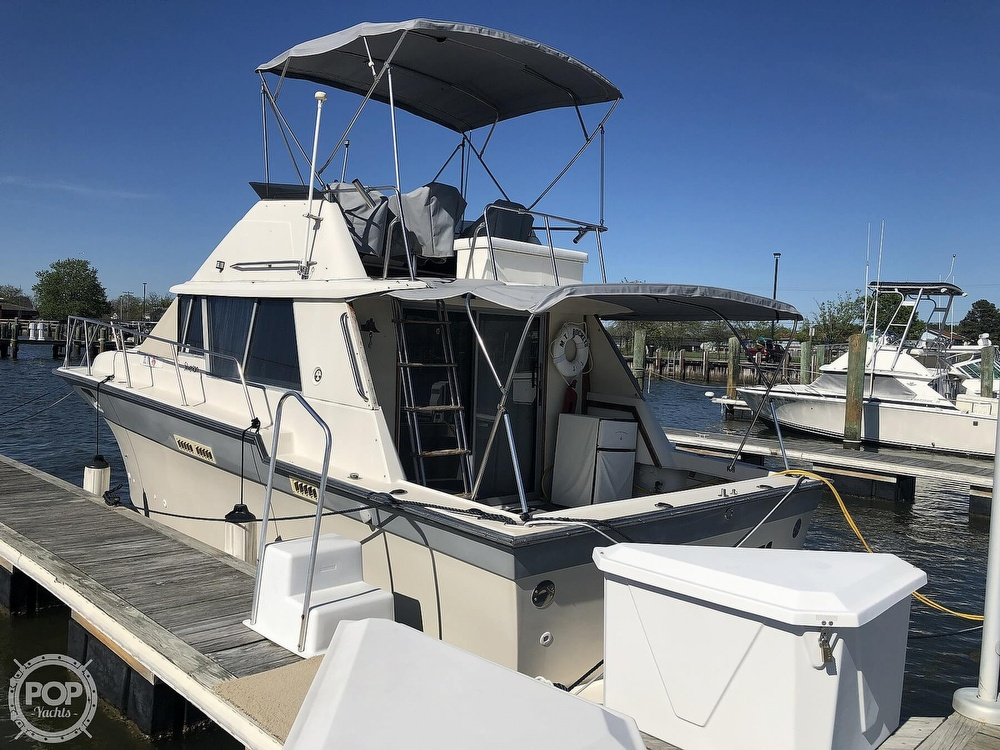 1987 Silverton boat for sale, model of the boat is 34 Convertible & Image # 3 of 40