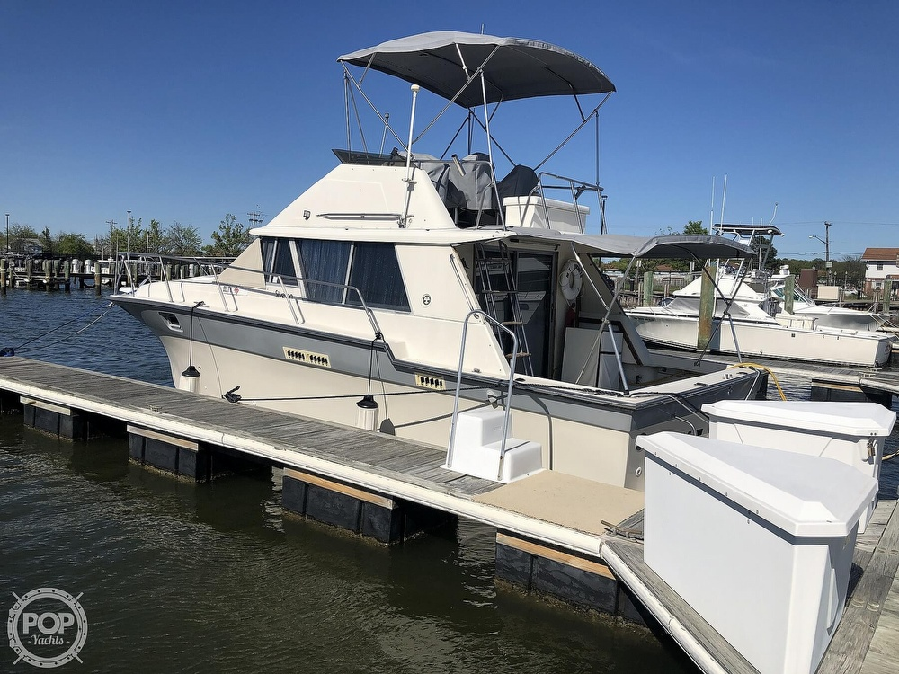 1987 Silverton boat for sale, model of the boat is 34 Convertible & Image # 15 of 40