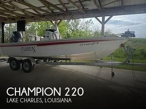 2008 CHAMPION 220 BAYCHAMP for sale