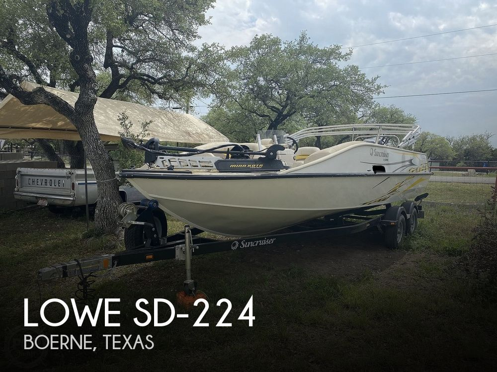 Used Deck Boats For Sale in Texas by owner   2011 Lowe SD-224
