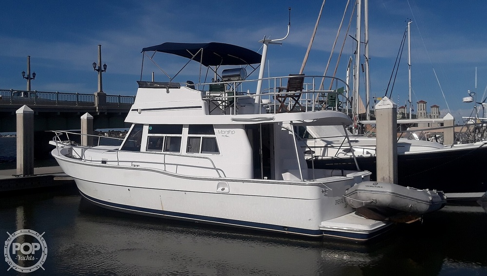 1998 Mainship boat for sale, model of the boat is 350 & Image # 2 of 40