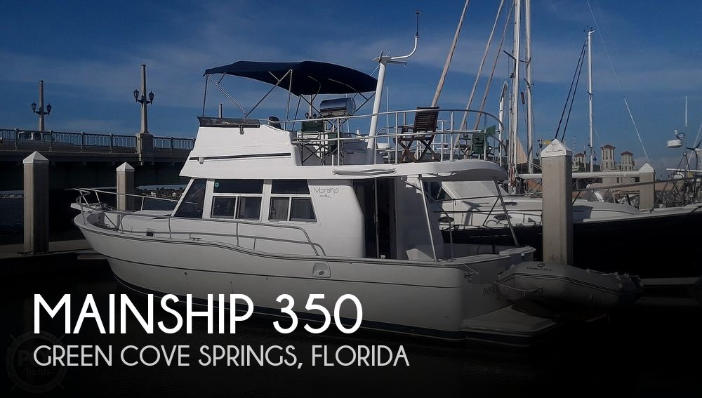 1998 Mainship boat for sale, model of the boat is 350 Trawler & Image # 1 of 40