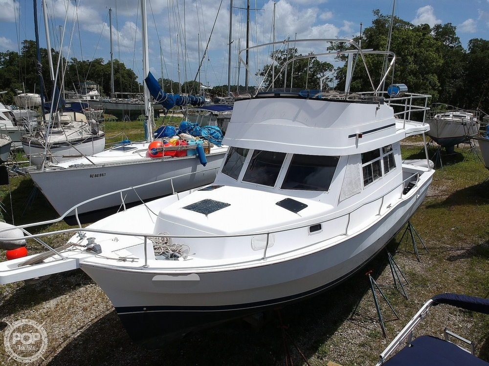 1998 Mainship boat for sale, model of the boat is 350 Trawler & Image # 2 of 40