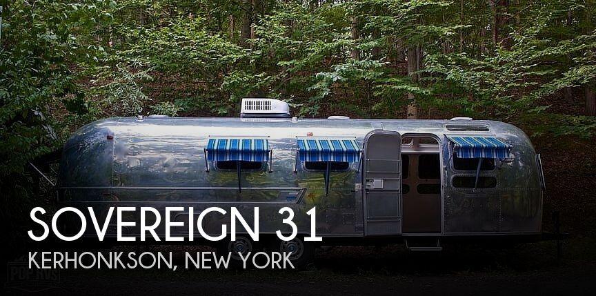 1972 Airstream Sovereign 31
