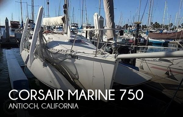 2009 Corsair Marine boat for sale, model of the boat is 750 Sprint & Image # 1 of 40