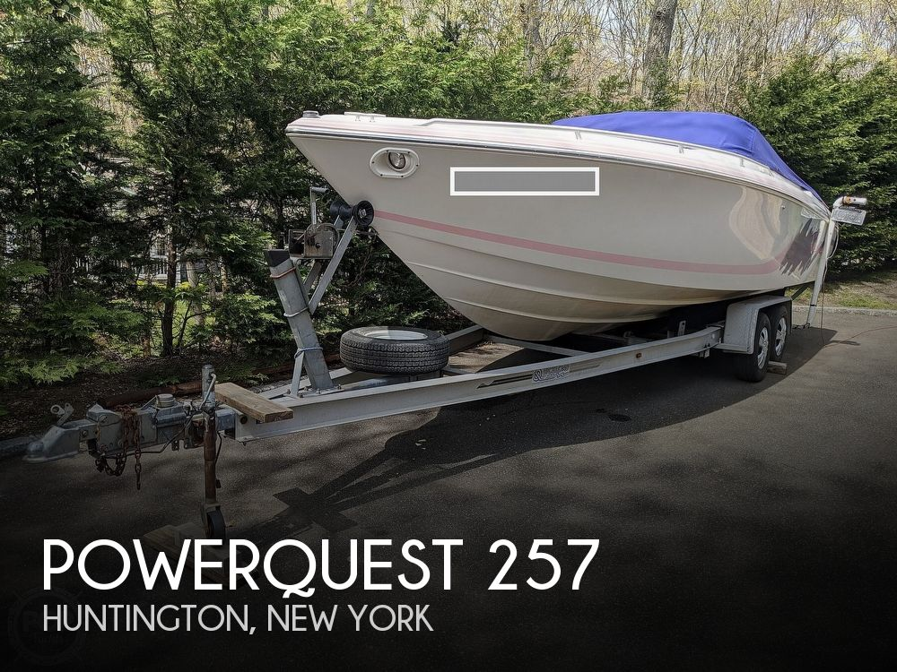 1993 Powerquest boat for sale, model of the boat is Legend 257 XL & Image # 1 of 40