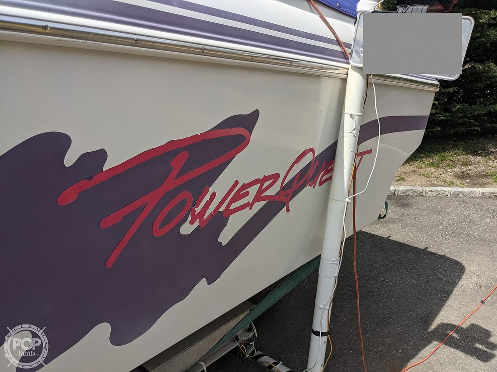 1993 Powerquest boat for sale, model of the boat is Legend 257 XL & Image # 16 of 40