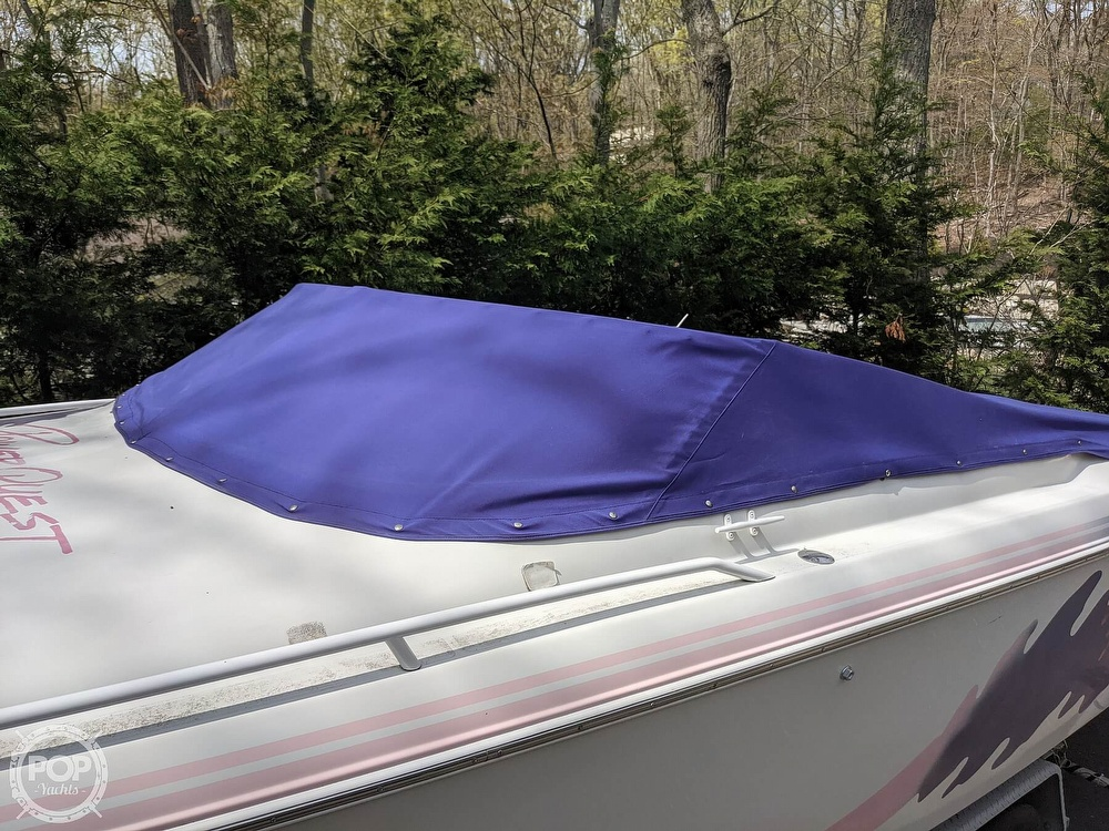 1993 Powerquest boat for sale, model of the boat is Legend 257 XL & Image # 29 of 40