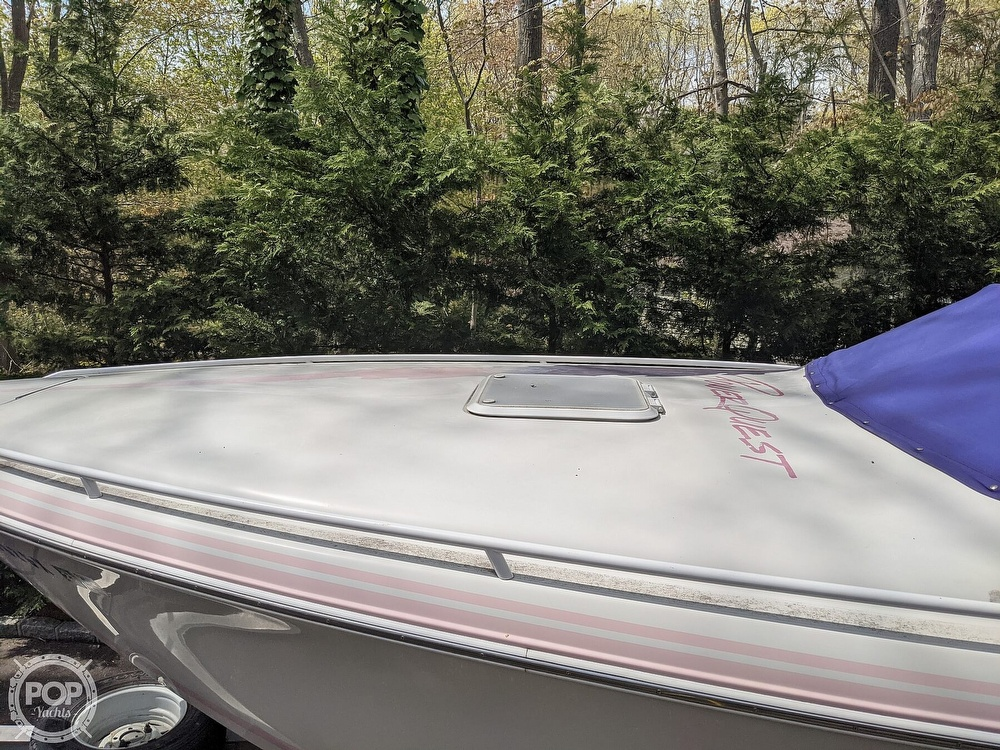 1993 Powerquest boat for sale, model of the boat is Legend 257 XL & Image # 30 of 40