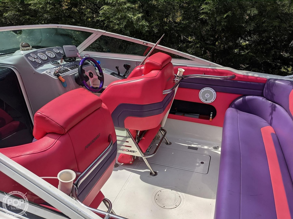 1993 Powerquest boat for sale, model of the boat is Legend 257 XL & Image # 7 of 40