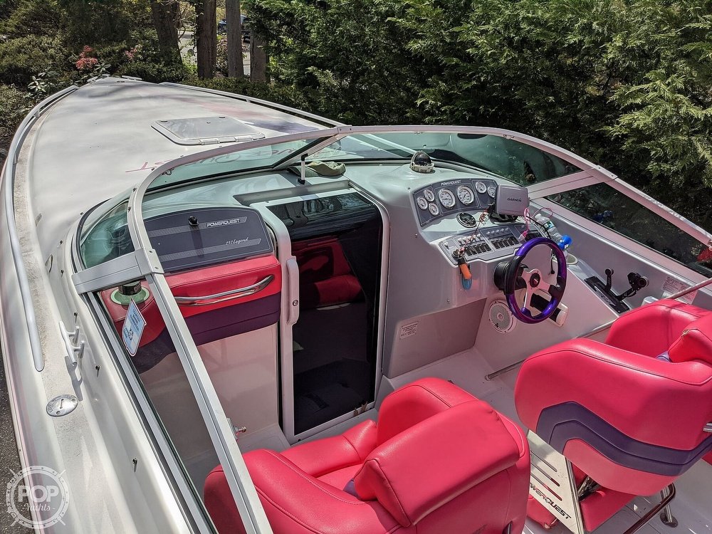 1993 Powerquest boat for sale, model of the boat is Legend 257 XL & Image # 2 of 40
