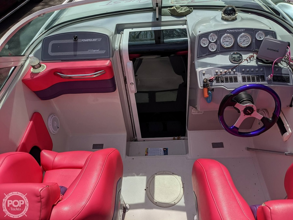 1993 Powerquest boat for sale, model of the boat is Legend 257 XL & Image # 8 of 40