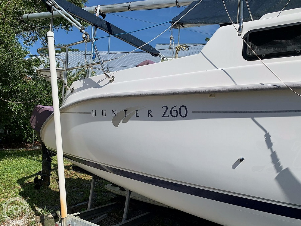 2002 Hunter boat for sale, model of the boat is 260 & Image # 6 of 40