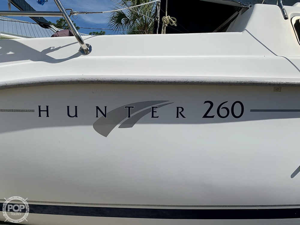 2002 Hunter boat for sale, model of the boat is 260 & Image # 7 of 40